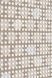 Dots Rug Beige Silver