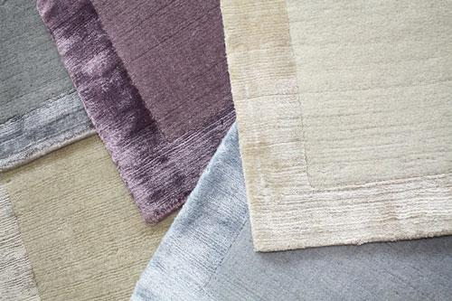 Handloom Borders in Wool and Bamboo