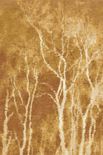 Reflected Trees Hand Knotted Rug