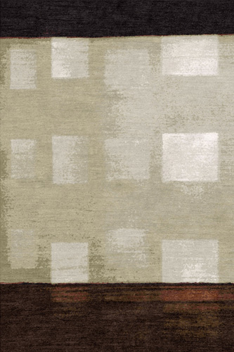 Filtered Squares Hand Knotted Rug