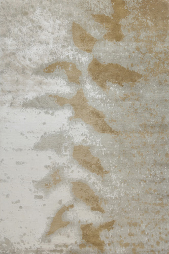 Frosted Leaf Hand Knotted Rug