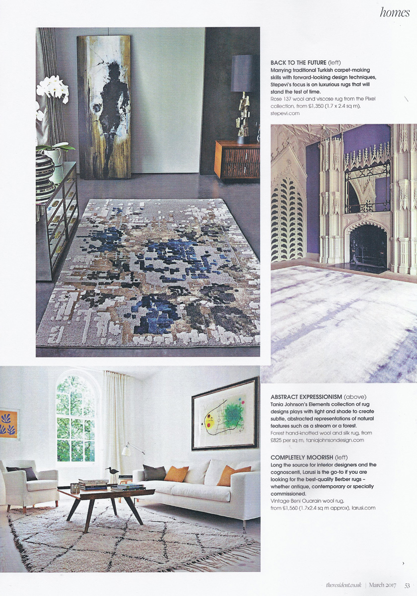 Fiona terry interior designer - The Resident March 2017 Hospitality Interiors January 2017